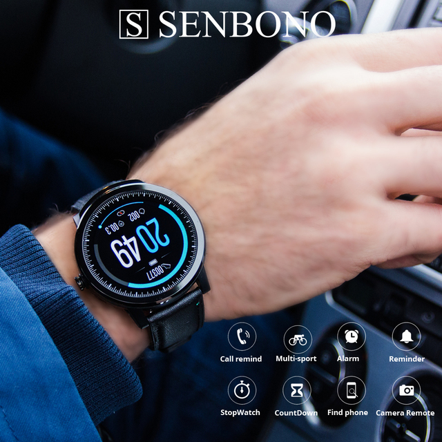 SENBONO S10 pro 2020 Men Women Smart Watch Heart Rate Monitor smartwatch Facebook INS Reminder Smart Clock for IOS Android phone