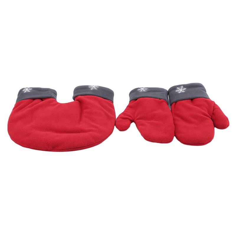 3 шт./компл. Рождественская модель, утолщенные зимние варежки для влюбленных, теплые двойные подарки ко дню Святого Валентина, варежки для влюбленных пар|Мужские перчатки| | АлиЭкспресс