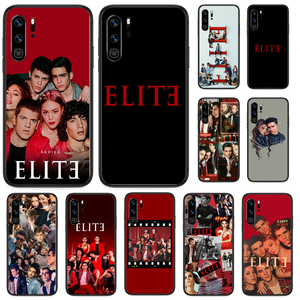 TV series Elite Phone case For Huawei P 9 Smart 10 20 30 40 8 Lite Mini Z 2019 Pro black cover 3D bumper painting coque tpu