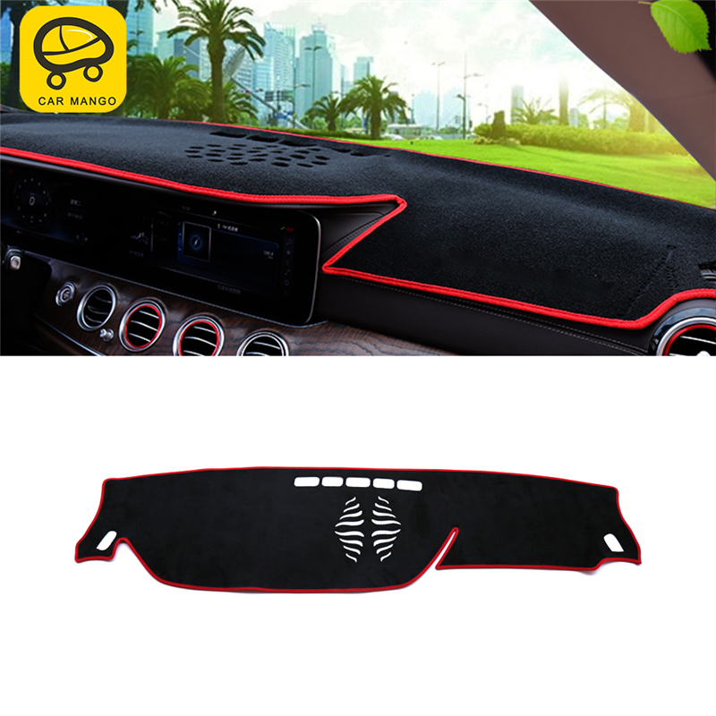 CARMANGO For Mercedes Benz E Class W213 2017 2019 Car Styling Dashboard Cover Sunshade Mat Pad Cushion Cover Interior Accessory|Car Anti-dirty Pad| |  - title=