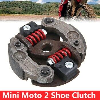 Para Polini BZM 1PC Pocket Bikes Mini Moto Minimoto Clutch ajustable 2 Shoe Spring accesorios de motocicleta TREYUES