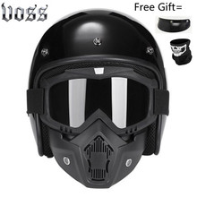 Free Shipping Motorcycle Scooter Open Face Helmet DOT  CE Black LARGE Matte White