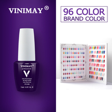 VINIMAY 96 Color Gel Nail Polish Gelpolish Gel Varnis Gellak Varnish Primer Set Soak Off opies UV Gel Polish Nail Art Salon 15ML