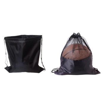 Drawstring Sack Drawstring Waterproof Dustproof Basketball Bag Drawstring Folding Shoulder Footba Bag For Gym Swimming Traveling фото