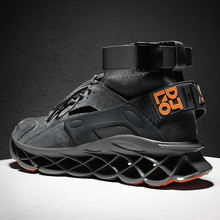 New High Top Blade Sports Shoes Cushioning Running
