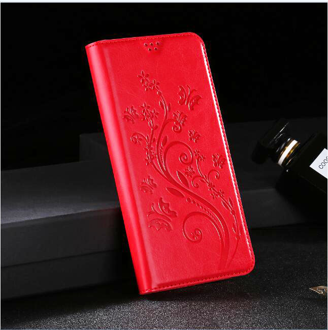 Pu Leather <font><b>Case</b></font> For <font><b>Alcatel</b></font> <font><b>Idol</b></font> <font><b>4</b></font> <font><b>Flip</b></font> Cover For <font><b>Alcatel</b></font> One Touch <font><b>Idol</b></font> <font><b>4</b></font> <font><b>6055K</b></font> 6055B <font><b>Case</b></font> Luxury Magnet Wallet Cover Coque image