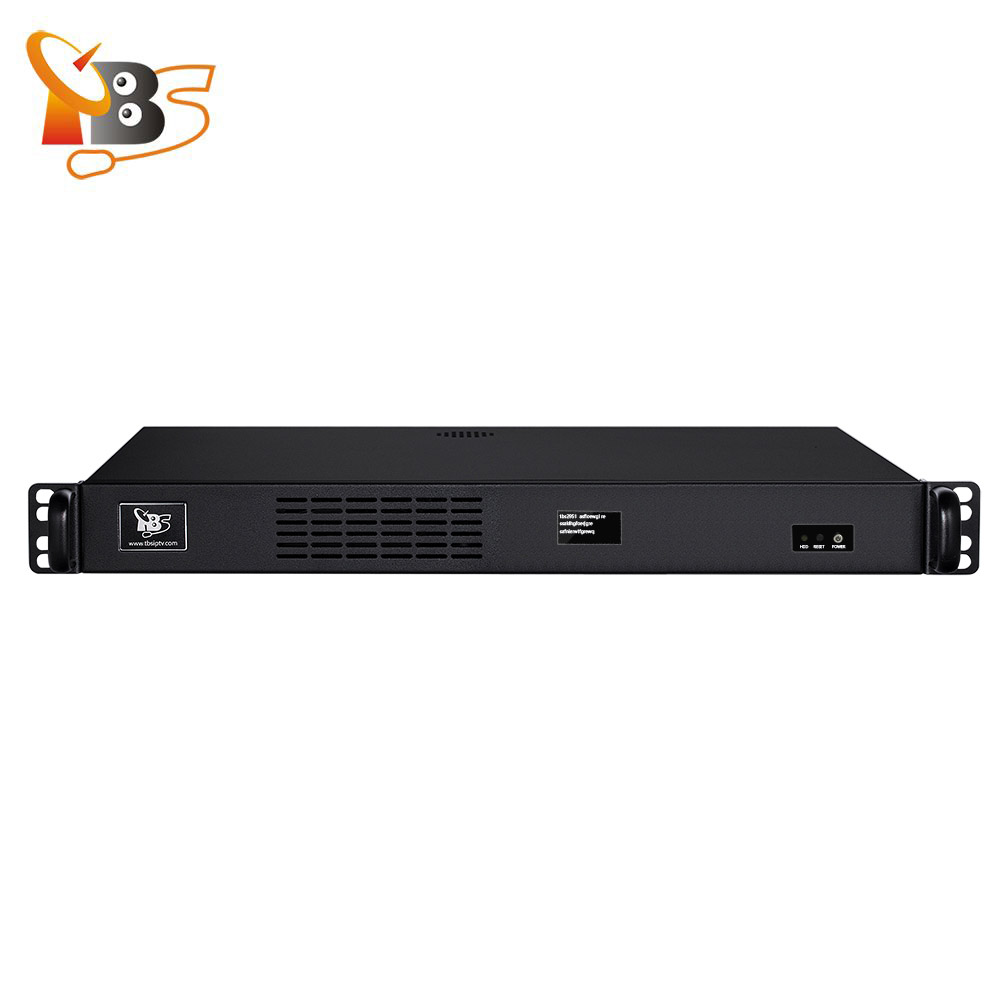 TBS2951 Professional IPTV Streaming Server with 4xDVB-S2 Octa Tuner Card TBS6909