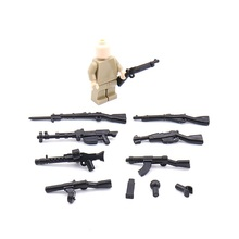 1PCS 0048 Modern Weapon parts Gun Original Block Toy Swat Police Military Weapons City Accessories Compatible Mini Figures