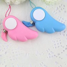 90dB ABS Self Defense Alarm Personal Keychain Protection Alert Device For Women Children Elder Safety Protector Emergency Alarm