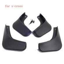Автомобильные чехлы высокого качества брызговики крыло крышка крыло пластиковый брызговик, грязевой щиток автомобиля крыло для suzuki s-cross- быстрая
