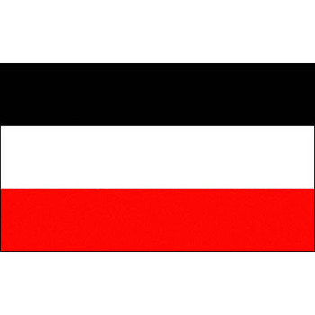 hanging 90*150cm black white red merchant North German Confederation flag For Decoration image