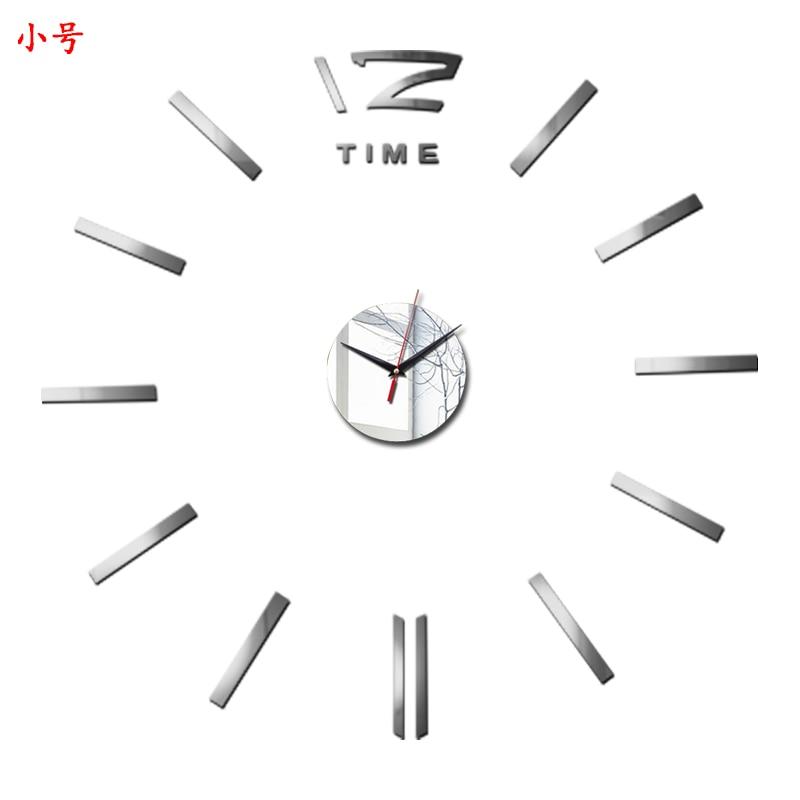 3D Wall Clock Acrylic Mirror Wall Stickers Modern DIY Wall Clocks Home Decor Living Room Quartz Needle reloj de pared 2020 NEW 36