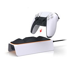 For PS5 controller charger console Dual Fast Charging Stand Station Dock Type-C USB Connector For Gaming Accessories Chargers