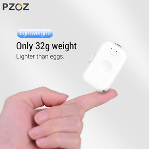 Image 2 - PZOZ Power Bank Mini 1200mAh Poverbank External Battery Portable Charger For iphone X 11 Max Samsung S10 xiaomi redmi Powerbank