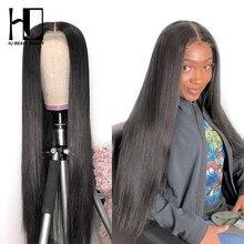 30 Polegada peruca 180 250 densidade frente do laço perucas de cabelo humano peruano em linha reta cor natural remy cabelo frontal perucas para as mulheres