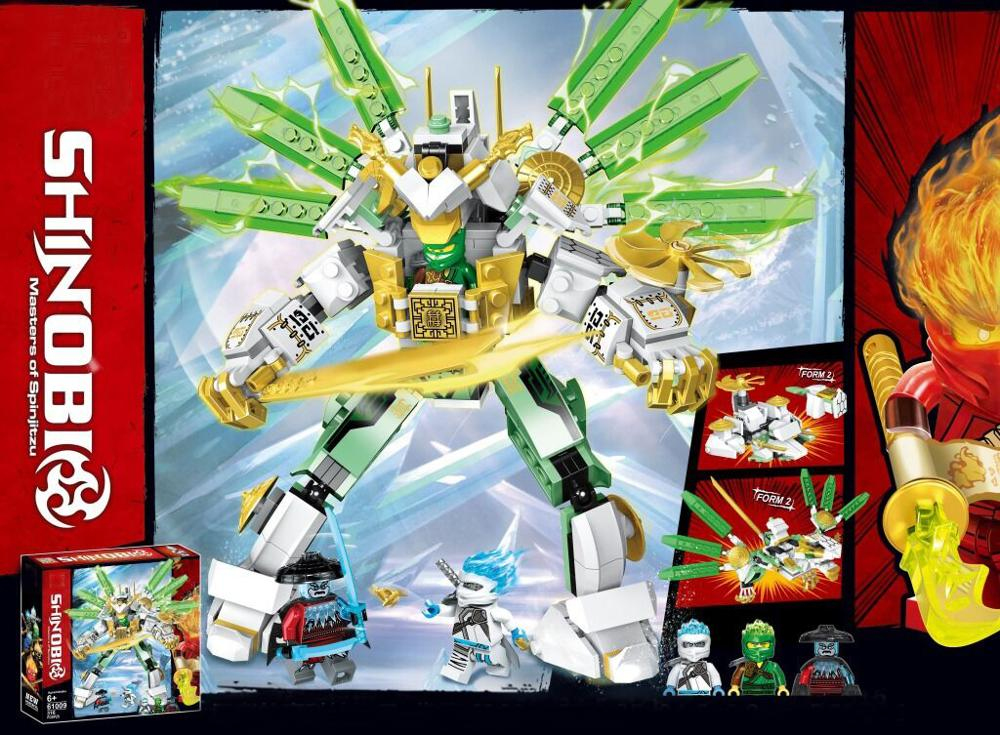 2020 Ninjagoed Lloyd S Titan Mech Robot Building Blocks Set Toys For Children Lepinblocks 70676 Boys Gift 2019 Movie Aliexpress