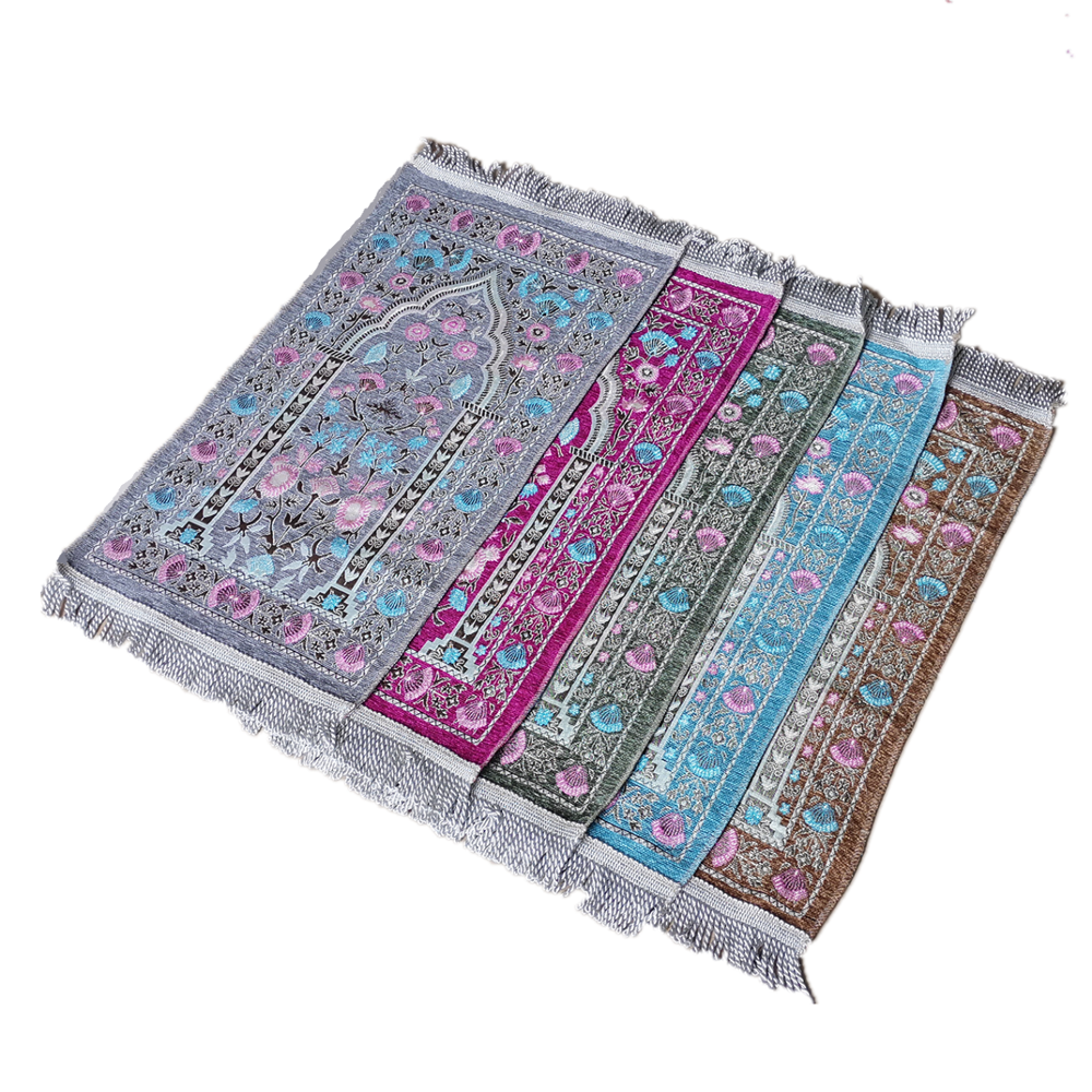 Muslim Chirldren Prayer Rug Baby Size 35×65CM Kids Gift Prayer Mat