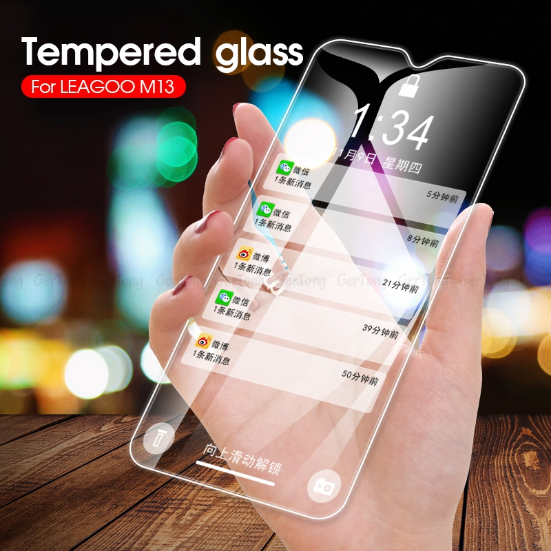 Ultra Thin Premium Tempered Glass For Leagoo Power 2 M5 M11 M13 M8 M9 Pro 9H Hardness HD Screen Protector Protective Glass Guard