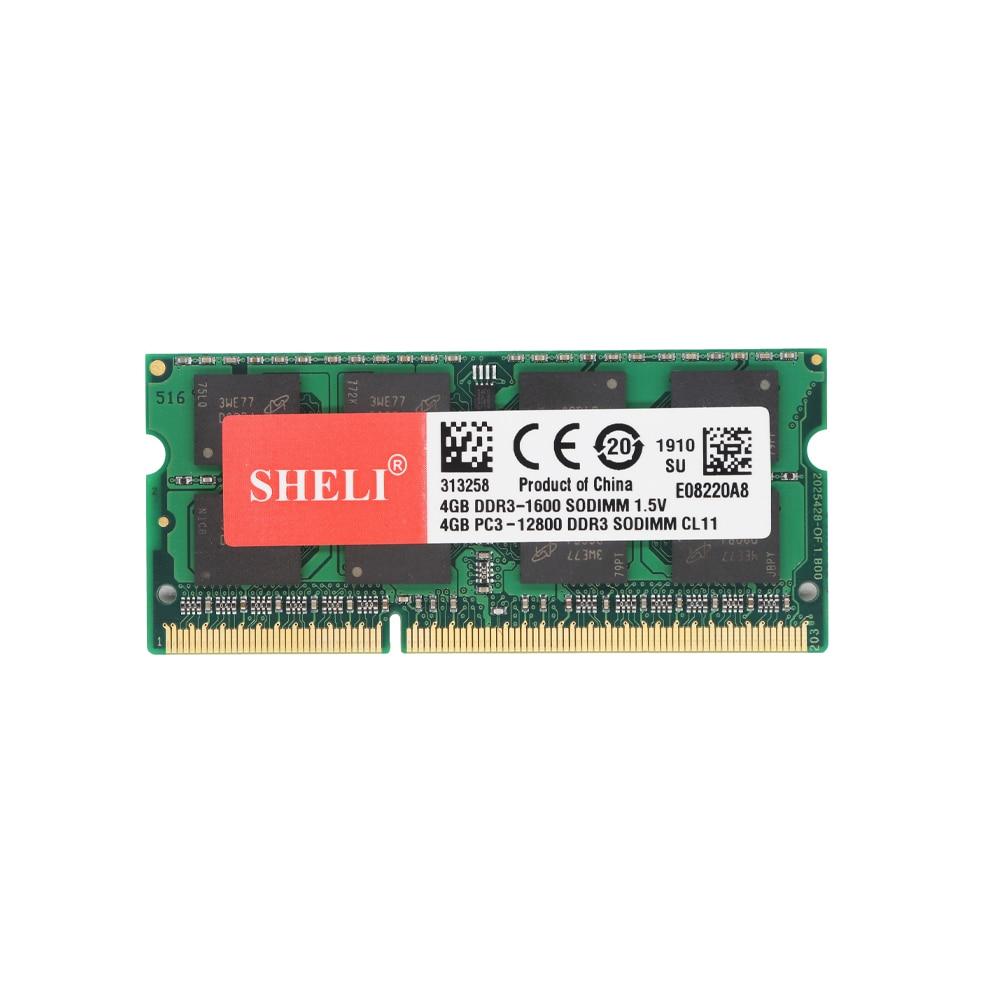 US 8GB 2Rx8 PC3L-12800s 1600 MHz 204 Pin 1.35V Sodimm For Dell HP Lenovo Memory