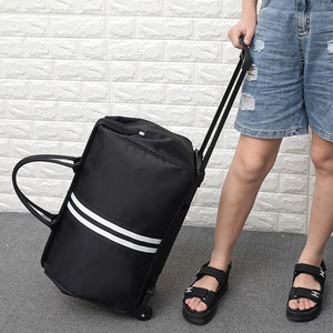 Image 4 - JULYS שיר גברים תיקי מזוודות עגלת נסיעות תיק עם גלגלים מתגלגל לשאת על מזוודה תיק גלגלי נשים Bolsas