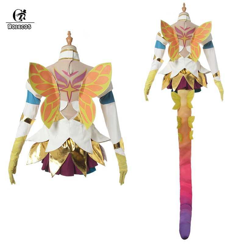 ROLECOS престиж Neeko косплей костюм звезда Хранитель LOL игровой костюм для косплея Для Neeko женские сексуальные юбки Хэллоуин