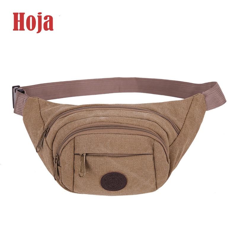 HU wai jian feng Холщовая Сумка модная прочная поясная сумка с регулируемым ремешком легкий вес водонепроницаемый баррель формы поясная сумка