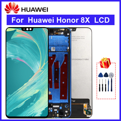 For Huawei Honor 8X LCD Display Touch Screen Digitizer Assembly Replacement Parts For Honor 8X Display Screen
