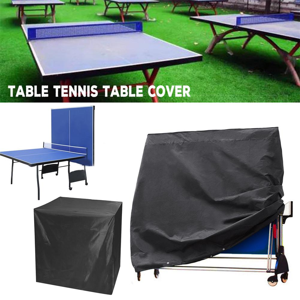 Outdoor Ping Pong Table Cover Weatherproof Multi-function Table Cover UV Protection Waterproof Moisture-proof Dust Cover