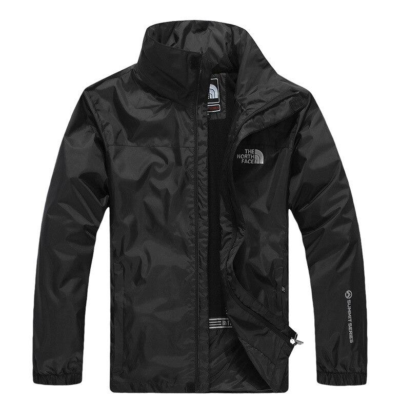 Outdoor Waterproof Jacket Men's Thin Type for Spring And Autumn Coat Windproof Waterproof Warm   Trench   Coat MEN'S Jacket