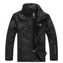 Outdoor Waterproof Jacket Men's Thin Type for Spring And Autumn Coat Windproof Waterproof Warm