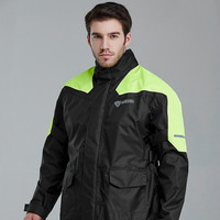 Nylon Waterproof Men Motorcycle Raincoat Rain Pants Suit Adults Rain Jacket Thickened Rain Coat Mens Sports Suits Hiking Gift
