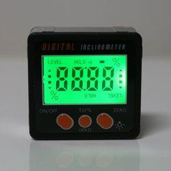Digitale Inclinometer Elektronische Gradenboog Aluminium Legering Shell Bevel Box Hoek Gauge Meter meten 94PC