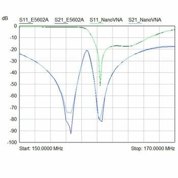 Nanovna-h 50 khz ~ 1.5 ghz vna 70db 2.8 인치 lcd hf vhf uhf uv 벡터 네트워크 분석기 안테나 분석기 배터리 안테나 분석기