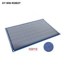 1pcs DIY 10*15CM Blue Single Side Prototype Paper PCB Universal Experiment Matrix Circuit Board 10x15CM For Arduino