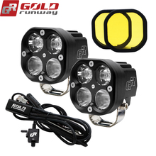 Bike-Lighting-Kits Motorcycle-Lights GOLDRUNWAY Auxiliary Universal 4200LM GR-X4 40w-Adventure