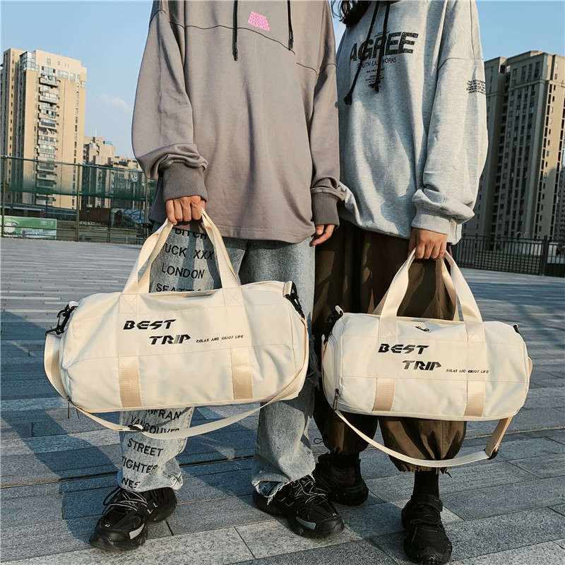 Waterproof Gym Bag Women Sports Bags For Fitness Travel Shoulder Bag Shoes Storage Men Sac De Sport Yoga Training Handbag