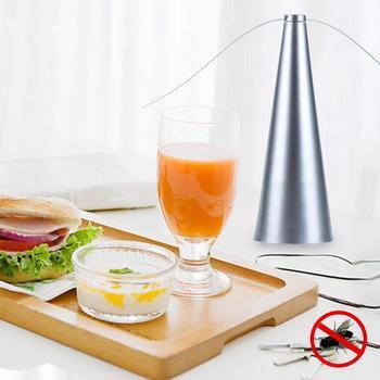 Практичный вентилятор с защитой от комаров для летающих насекомых, вентилятор для летающих насекомых, серебристый, экологически чистый FD