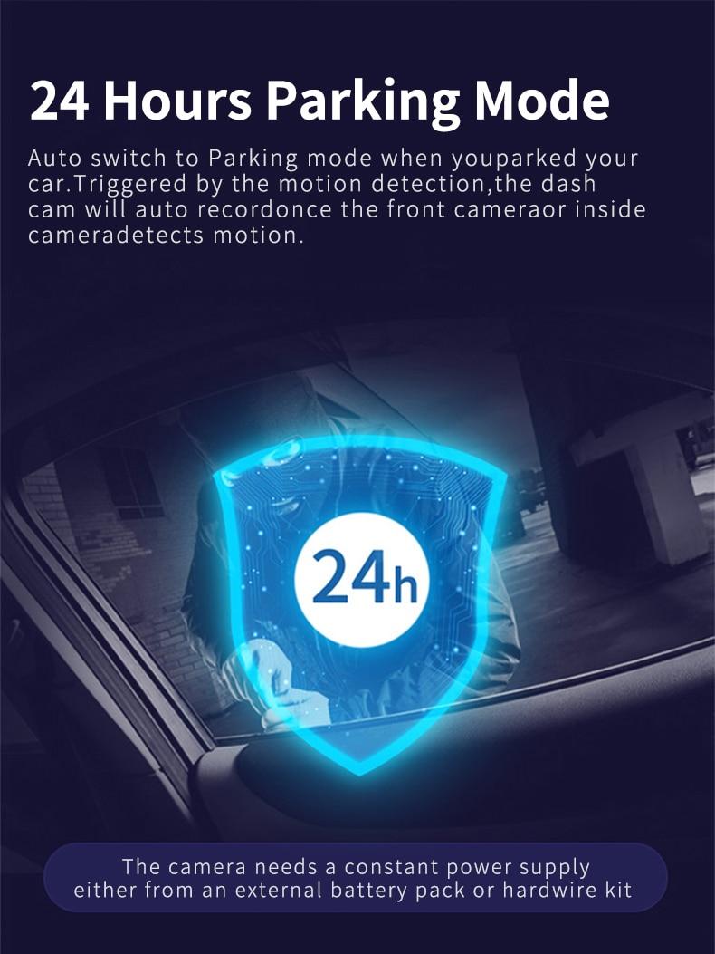 H559d593b339c4a9db6831d6058e9ef735 - 12インチ バックミラー カー DVR カメラ GPS FHD デュアル1080Pレンズ 駐車24時間モーション検知