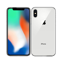 """Used Unlocked Cell phone Apple iPhone X 5.8"""" 3GB+64GB/256GB 4G LTE  A11 CPU Wireless Charge 2"""