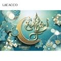 Laeacco фотофоны EID Ramadan Kareem Mubarak Moon вечерние фестивали плакат фотографический фоновая фотосъемка