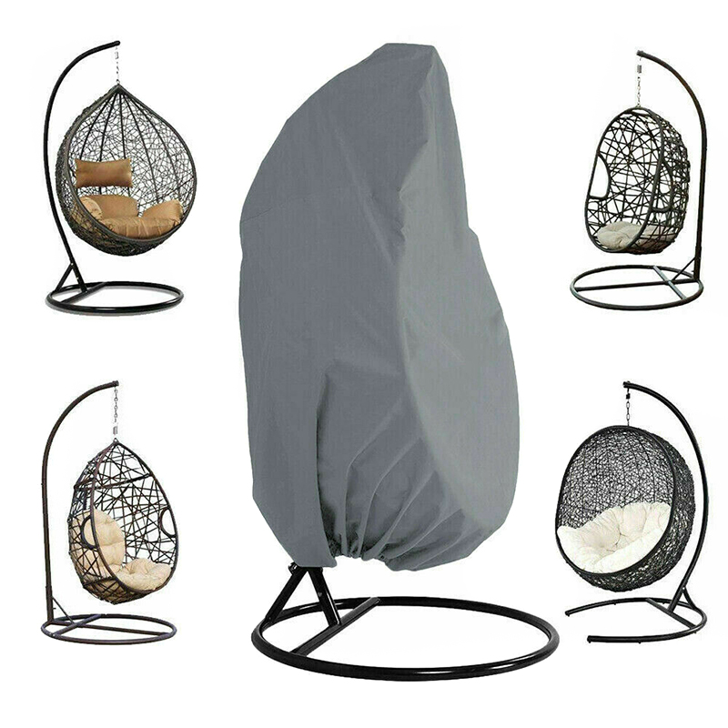 Outdoor Patio Hanging Chair Cover Heavy Duty Egg Swing Chair Covers Dust Cover Outdoor Garden HUG-Deals(China)