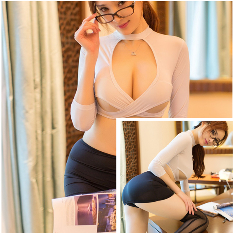 Sexy Uniform Erotic Costumes Erotic Cosplay Costumes For Sex Sexy Secretary Sex Skirt Sex Cosplay Sex Play Sexy Student Uniform