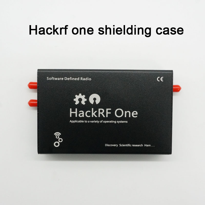 Aluminum Enclosure Black Cover Case For HackRF One