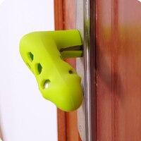 Para o bebê criança proteção contra acidentes de segurança suíte porta silicone lidar com ferramentas anti colisão decoração de casa|Capas p/ maçaneta|Casa e Jardim -