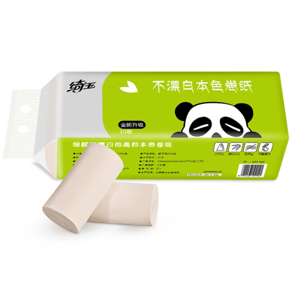 3 Layers 10 Rolls/Lot Toilet Roll Paper Home Bath Toilet Roll Paper Primary Wood Pulp Toilet Paper Tissue Roll Instork