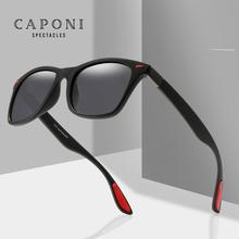 CAPONI Polarized Couple Sunglasses 2020 New Men Fashion Squa