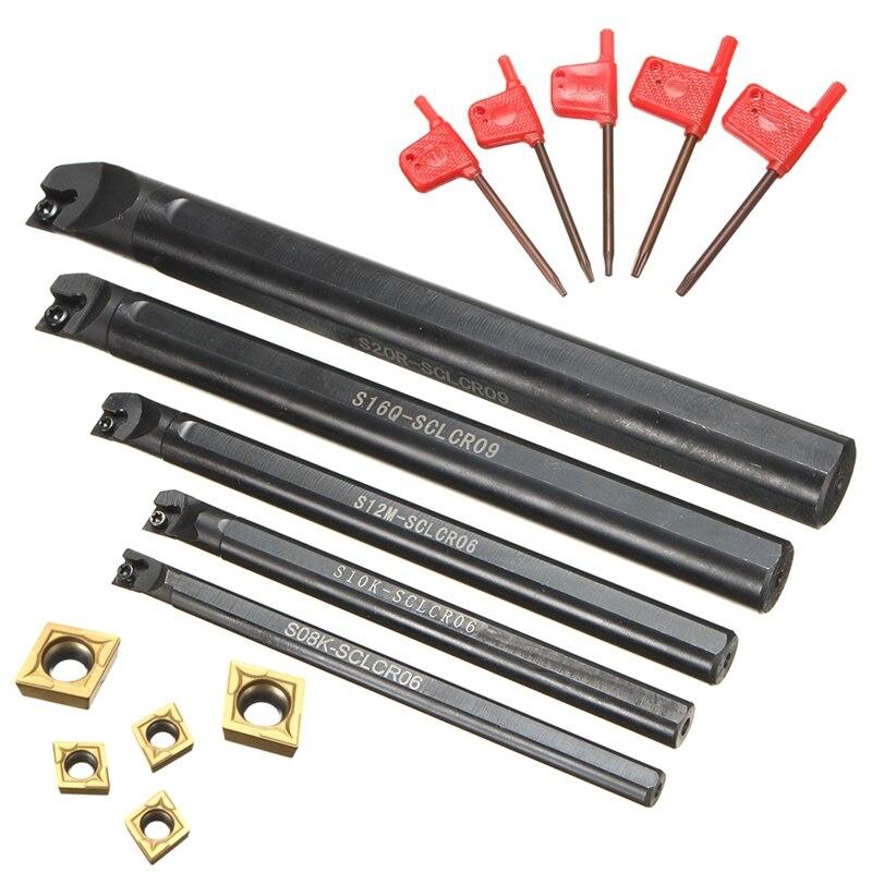 SNR0008k11 8x125mm Lathe Threading Boring Bar Turning Tool For 11 IR 1//4 Insert