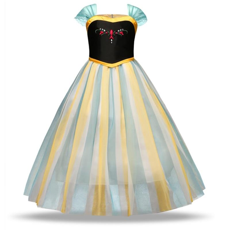 Aladdin peri prenses kostüm Rapunzel elbise parti cadılar bayramı karnaval Aurora Cosplay elbise Up çocuklar bebek Anna Elsa elbise