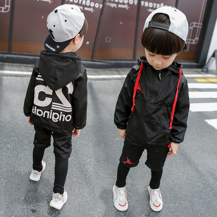 Male Baby Children 19 Autumn New Style Solid Color <font><b>25</b></font> Set <font><b>000</b></font> Childrenswear image