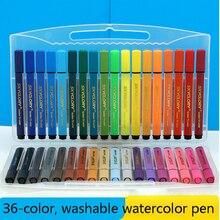 Washable Watercolor-Pen-Set Painting Art-Supplies Drawing Children Mark Sketch 12/18/24/36-color